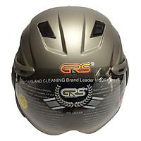 Mũ Bảo Hiểm GRS A737K - Xám Nhám