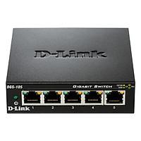 Bộ Chia Mạng Switch 5 Cổng 10/100/1000M D-Link DGS-105 - Hàng Chính Hãng