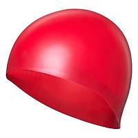 Nón Bơi Trơn POPO Sport CA-31-RED - Đỏ