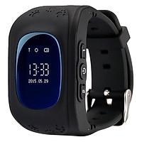 Đồng Hồ Thông Minh Định Vị GPS Mobiwatch Q50 - Đen - Hàng chính hãng