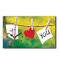 Đồng Hồ Để Bàn Dyvina B1525-27 - I Love You