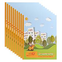 Lốc 10 Cuốn Tập 5 Ô Ly Vuông Điểm 10 Thiên Long NB74 (96 Trang)