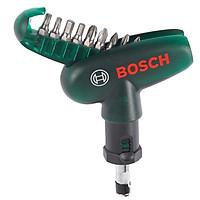 Bộ Mũi Vặn Vít Cầm Tay 10 Món Bosch – 2607019510 (Xanh Đen)