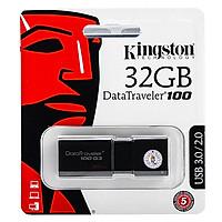 USB Kingston DT100G3 32GB USB 3.0 - Hàng Chính Hãng