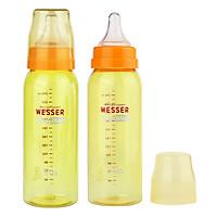 Bộ 2 Bình Sữa Wesser Nano Silver Cổ Hẹp (250ml)...