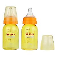 Bộ 2 Bình Sữa Wesser Nano Silver Cổ Hẹp (140ml)...