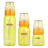 Bộ 3 Bình Sữa Wesser Nano Silver Cổ Hẹp (60ml...