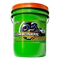 Nhớt Động Cơ Diesel BCP D3 Commonrail CH4/SJ 20W50 (18 Lít)