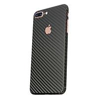 Miếng Dán Mặt Sau Vân Carbon Cho iPhone 7Plus (Đen)