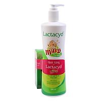 Sữa Tắm Gội Trẻ Em Lactacyd Milky (500ml) - Tặng Kèm 2 Chai (60ml / Chai)