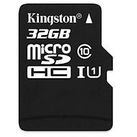 Thẻ Nhớ Micro Kingston SDHC10_SDC10-32GB Class 10 - Hàng Chính Hãng