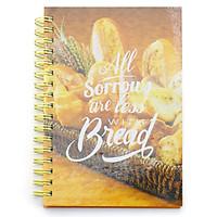 Sổ Lò Xo Notes Of Breakfast - Bread