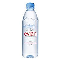 Nước Khoáng Evian Chai Nhựa (500ml)