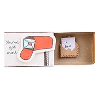 Thiệp Tình Yêu Hộp Diêm You've Got Mail