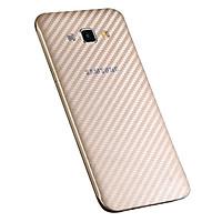 Miếng Dán Mặt Sau Vân Carbon Cho Điện Thoại Samsung Galaxy J2 Prime (Trong Suốt) - Hàng nhập khẩu