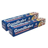 Bộ 2 Giấy Không Thấm Dầu / Giấy Nướng Bánh Goodbake GB30 (30cm x 5m)