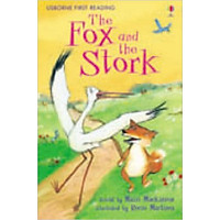 Usborne First Reading Level One: The Fox and the Stork