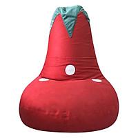 Ghế Lười Gaming Lớn Hình Quả Dâu Beanbag House GAM-L-DAU (90 x 85 cm) - Đỏ