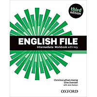 English File (3 Ed.) Inter: Workbook With Key - Paperback