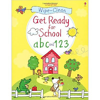 Usborne Get Ready for School abc and 123