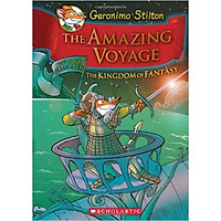 Geronimo Stilton: The Kingdom Of Fantasy 3: The Amazing Voyage (Hc) - Hardcover