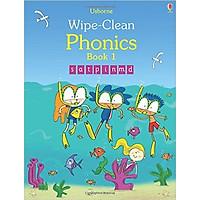 Sách tẩy xóa tiếng Anh - Usborne Wipe-Clean Phonics Book 1