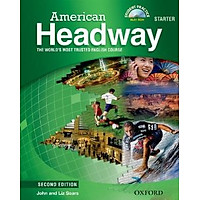 American Headway Starter Student Book with MultiROM 2Ed