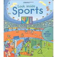 Sách tương tác tiếng Anh - Usborne Look inside Sports