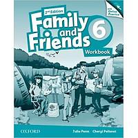 Family & Friends (2 Ed.) 6 Workbook & Online Practice Pack - Paperback