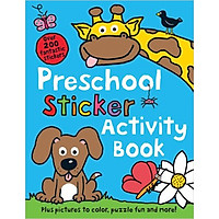 Color And Activity Books: Preschool
