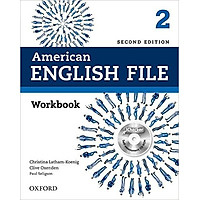 American English File (2 Ed.) 2: Workbook and iChecker - Paperback