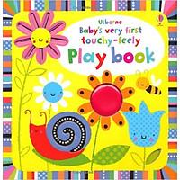Sách tương tác tiếng Anh - Usborne Baby's very first Touchy-feely Play book