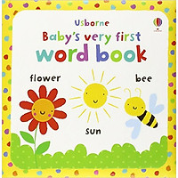 Usborne Baby's very first word book