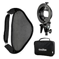 Godox Smart Softbox 80 x 80 cm With Godox S Shape Adapter - Hàng nhập khẩu