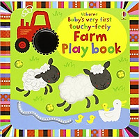Usborne Baby's very first touchy-feely Farm Play book