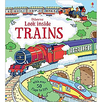 Usborne Look inside Trains