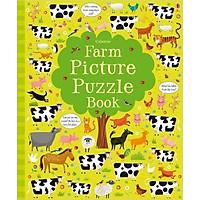 Sách tương tác tiếng Anh - Usborne Farm Picture Puzzle Book