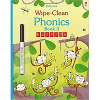Usborne Wipe-Clean  Phonics Book 3