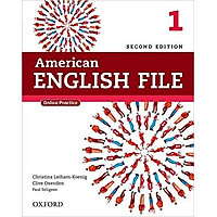 American English File (2 Ed.) 1: Student Book with Oxford Online Skills Program - Paperback