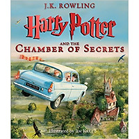 Harry Potter Part 2: Harry Potter And The Chamber Of Secrets (Paperback) - Illustrated Edition - Harry Potter và Phòng chứa bí mật