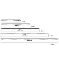 Thước Kẻ 50cm Deli 6250
