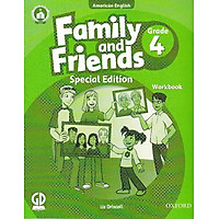 Family And Friends (Ame. Engligh) (Special Ed.) Grade 4: Workbook