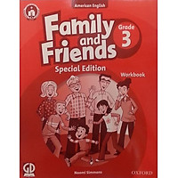 Family And Friends (Ame. Engligh) (Special Ed.) Grade 3: Workbook