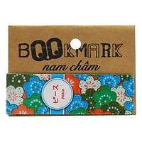 Bookmark Nam Châm Kính Vạn Hoa - Họa Tiết Nhật: Peace
