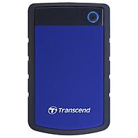 Ổ Cứng Di Động Transcend StoreJet H3B 2TB USB 3.0 - TS2TSJ25H3B - Hàng Chính Hãng