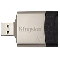 Đầu Đọc Thẻ Nhớ SDXC Kingston FCR-MLG4 USB 3.0 - Hàng Chính Hãng