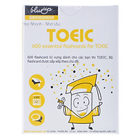 Hộp Blueup TOEIC 600 Essential Flashcards For Toeic Trọn Bộ - Alphabook