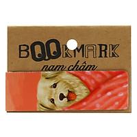 Bookmark Nam Châm Kính Vạn Hoa - Con Chó Nhỏ Mang Giỏ Hoa Hồng: Suku