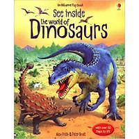 Sách tương tác tiếng Anh - Usborne See Inside the World of Dinosaurs