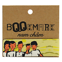 Bookmark Nam Châm Kính Vạn Hoa - Lá Nằm Trong Lá